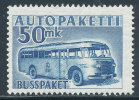 FINLAND 1954 PARCEL POST STAMPS / MAIL BUSS = KEY STAMP SC# Q8 FRESH MNH