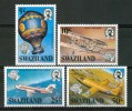 1984 Swaziland Trasporti Transport  Aerei Aircraft Avions Set MNH**B356 - Swaziland (1968-...)