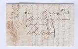 Lettre Précurseur NINOVE 1809 Via 92 ALOST Vers LOVEN ( Louvain) - Signé Vandertaelen  -- B8/881 - 1794-1814 (Période Française)