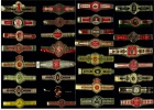 32 Verschiedene Alte Zigarren Banderolen  - Bauchbinden Von Ca. 1950-1960 - Ohne Zuordnung