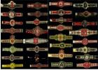 32 Verschiedene Alte Zigarren Banderolen  - Bauchbinden Von Ca. 1950-1960 - Tabac (objets Liés)