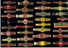 33 Verschiedene Alte Zigarren Banderolen  - Bauchbinden Von Ca. 1950-1960 - Ohne Zuordnung
