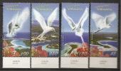Vanuatu 2008 N° 1332 / 5 ** Salutations, Faune, Oiseaux, Aigrette Sacrée, Sterne Huppée, Gygis Blanche, Phaéton - Vanuatu (1980-...)
