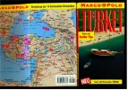 Türkei - Marco Polo Reiseführer Mit Reiseatlas  - 14 Seiten Reiseatlas , Mit Insider Tipps -  1998 - Reiseführer