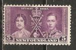 Newfoundland 1937 Coronation  5c   (o) - 1908-1947