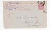 JUDAICA BELGIUM - 2 X Entier ANVERS 1894/95 - Cachet Privé August Blumenthal , Ship Broker -- B8/885 - Timbres