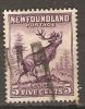 Newfoundland 1932-38  5c   (o) Die I - 1908-1947