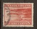 Newfoundland 1932-38  8c   (o) - Newfoundland