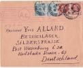 ENV FALAISE(calvados) Pour Allemagne Censure 1944 - Postmark Collection (Covers)