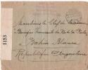 MILITAIRES FRANCAIS INTERNES AUX PAYS BAS 1917 POUR L ARGENTINE - WW I
