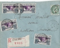 NIEVRE CHATEAU CHINON  ENV REC LOCALE NO 213X4 Et 111 1926 - Postmark Collection (Covers)