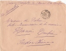CORPS D OCCUPATION ANNAM TONKIN 1888 - Postmark Collection (Covers)