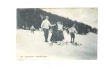 SPORT D'HIVER - Descente En Skis - DECAUX Editeur Leysin - - Suisse