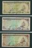 LOTTO DI  N.  3  BANCONOTE  DELLE  MALDIVE -  /  Anno 1983. - Maldive
