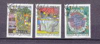 LIECHTENSTEIN  2000    N°1178 à 1180       OBLITERES - Liechtenstein