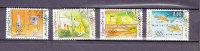 LIECHTENSTEIN  2000    N°1184 à 1187       OBLITERES - Liechtenstein