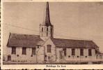 CPA.       SLEIDINGE.     De Kerk.      1947. - Evergem