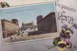UN PENSIERO DA ROMA / PIAZZA VENEZIA  / CIRC 1917 - Roma