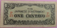 "1 Centavo Philippines Occupation Japan ""WWII"" °  P_AC   WWII - Philippines"