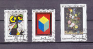 LIECHTENSTEIN  2000    N°1188 à 1190       OBLITERES - Liechtenstein