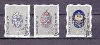 LIECHTENSTEIN  2001    N°1202 à 1204       OBLITERES - Liechtenstein