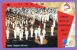 """Indo   """"  Kirab  Remaja  Nasional  1995  """"  125 Units    ***    LUXE - Indonésie"""