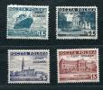 "Poland 1936-7 Sc 1K29-2 Mi 30-2 MvLH  Overprint ""PORT GDANSK"" Danzig - Unused Stamps"