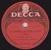 78 Trs  DECCA  MU 30496 - ETHEL SMITH - LA BAMBA DA VERA CRUZ - TIC TOC RUMBA - 78 Rpm - Gramophone Records