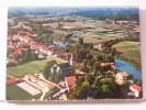 (64) - USTARITZ - VUE GENERALE AERIENNE ET LA NIVE - 1975 - Autres Communes