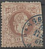 AUTRICHE Empire 1867-1880 Y&T N° 39 Obl Used - Usati