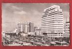 P0594 Casablanca, Place De France.BAnque Naionale. Circulé Sous Enveloppe. La Cigogne 95.101.17 - Casablanca