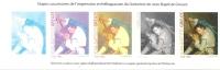 EPREUVES COULEURS SANS VALEUR D´AFFRANCHISSEMENT Le Guitariste De JEAN BAPTISTE GREUZE - Documents Of Postal Services