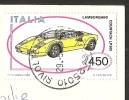 SIRMIONE Il Porto Lago Di Garda Francobollo LAMBORGHINI COUNTACH LP500 1985 - Brescia