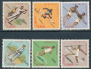 CAPE VERDE 1962 SPORTS INCLUDING GOLFING/GOLF SC# 320-325 VF MNH - Cape Verde