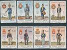 CAPE VERDE 1965 MILITARY UNIFORM SC# 330-337 FRESH VFMNH - Cape Verde