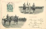 Dragons Et Chasseurs à Cheval, Revue Du 20e Corps D'Armée, Plateau De Malzéville. 2 Scans. - Manovre