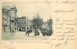 Nancy : Temple Protestant Et Square Saint Jean. Dos Simple. 2 Scans. Edition Royer - Nancy