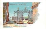 Nancy : Place Stanilas, Publicité Chemins Fer De L'Est, Par Hugo D'Alési. TBE. Dos Simple. 2 Scans. - Nancy