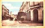 MOSTAGANEM AVENUE DU 1er DE LIGNE ET BANQUE DE L'ALGERIE ECRITE ET CIRCULEE 1929 - Mostaganem