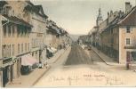 Bulle, Grand´Rue, Animée, Pharmacie Du Serpent - FR Fribourg