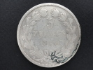 1840 A - 5 Francs II Type DOMARD - Louis Philippe I - Argent - J. 5 Francs