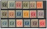 GUI09-L2048TFR. Espagne.Spain.Guinee.. GUINEA ESPAÑOLA ALFONSO XIII  1903.(Ed 9/26*) - Familias Reales