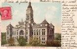 Etats-Unis > KS - Kansas > WICHITA - Sedgwick County Court House (Palais De Justice) (Stamp  2 Cents Red Washington, - Wichita