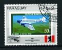 PARAGUAI -PARAGUAY - Aerei Passeggeri - Air Passengers - 1987 - Usato - Used . - Aerei