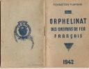 Chemin De Fer/Orphelinat Des Chemins De Fer Français/1942            VP149 - Transports