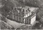 Méréville - Le Château - Vue Aérienne - Photo Véritable - Autres Communes