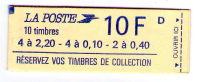 France - Carnet Liberté De Delacroix N° 1501 - Carnets