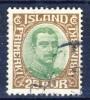 ##D1525. Iceland 1920. Michel 92. Used(o) - Usados
