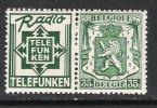 Belgie OCB 93 (**) - Advertising