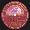 78 Trs  DISQUE GRAMOPHONE K-8170 - ORCHESTRES  Fox-trot - OH !  MA-MA - LAMBETH WALK - 78 Rpm - Gramophone Records